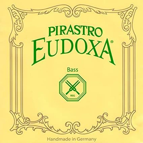 PIRASTRO EUDOXA CORDA SI (B5) PER BASS ORCHESTRA GUT/SILVER MITTLE 243540