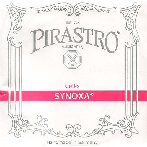 PIRASTRO SYNOXA CORDA RE (D) PER CELLO SYNTHETIC/ALUMINIUM MITTLE 433220