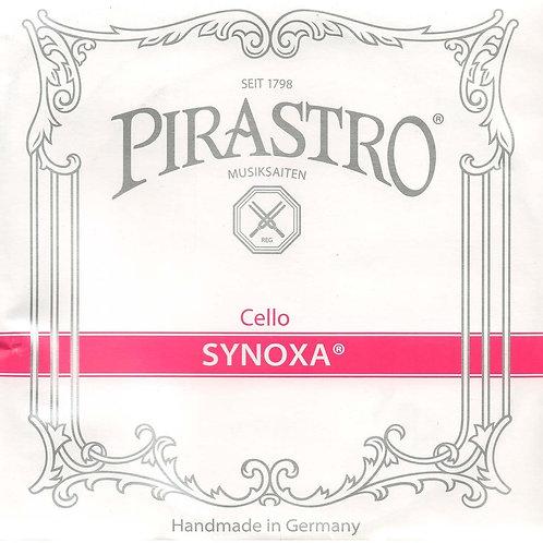 PIRASTRO SYNOXA CORDA SOL (G) PER CELLO SYNTHETIC/SILVER MITTLE 433320