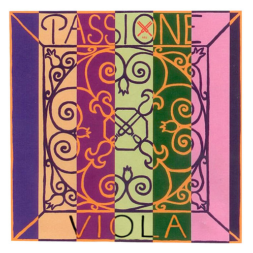 PIRASTRO PASSIONE CORDA RE (D) PER VIOLA GUT/SILVER 14 ENVELOPE 229241