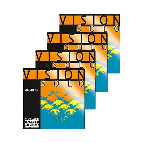 VISION SOLO MUTA CON CORDA RE (D) RIV. IN ALLUMINIO PER VIOLINO - VIS100
