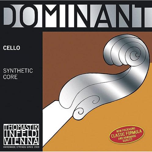 THOMASTIK INFELD DOMINANT NYLONKERN CORDA SOL (G) ARGENTO PER VIOLONCELLO - 144A