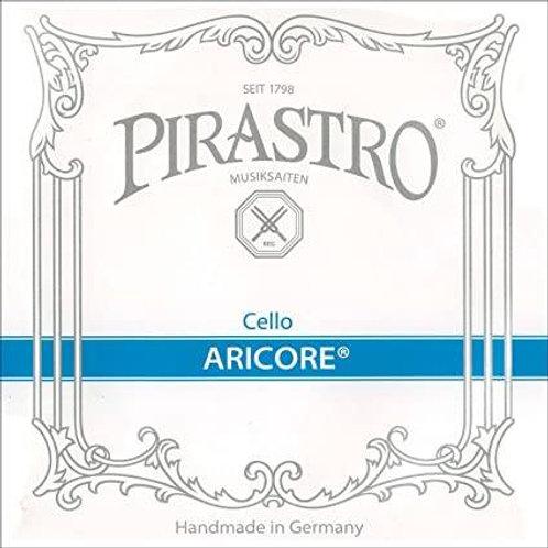 PIRASTRO ARICORE CORDA RE (D) PER CELLO SYNTHETIC/CHROME STEEL MITTLE 438220