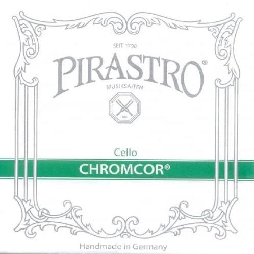 PIRASTRO CHROMCOR CORDA LA (A) PER CELLO STEEL/CHROMES STEEL MITTLE 339120