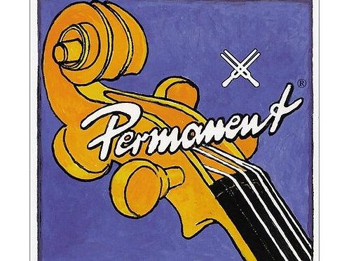 PIRASTRO PERMANENT CORDA RE (D) PER CELLO STEEL/CHROME STEEL MITTLE 337220