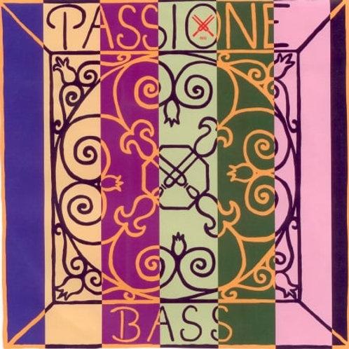 PIRASTRO PASSIONE CORDA CIS5 PER BASS SOLO ROPE CORE/CHROME STEEL MITTLE 349500
