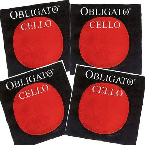 PIRASTRO OBLIGATO MUTA PER CELLO MITTLE 431020