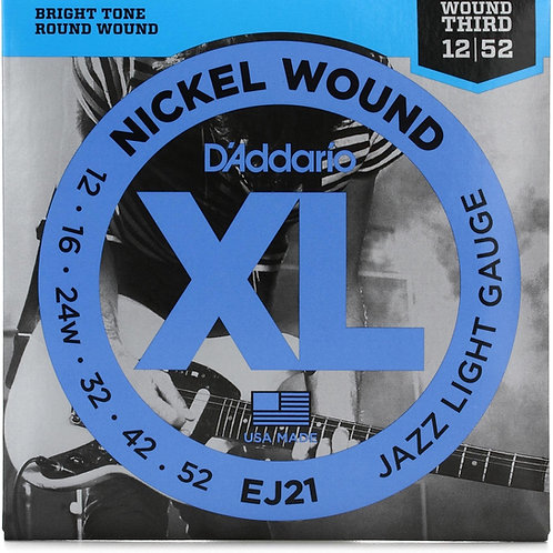 D'ADDARIO XL NICKEL ROUND WOUND CHITARRA ELETTRICA EJ21