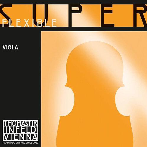 SUPERFLEXIBLE SEILKERN CORDA LA (A) ACCIAIO-CROMO PER VIOLA - 18
