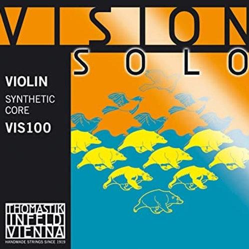 VISION SOLO CORDA RE (D) RIVESTIMENTO IN ALLUMINIO PER VIOLINO - VIS03