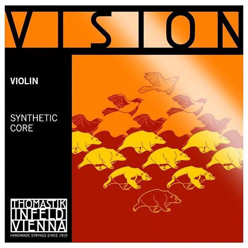 VISION SYNTHETIC CORE RE (D) RIVESTIMENTO ALLUMINIO PER VIOLINO - VI03