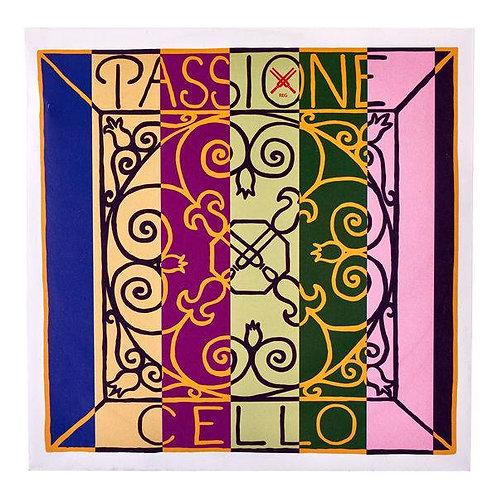 PIRASTRO PASSIONE (GUT) CORDA SOL (G) PER CELLO GUT/CHROME STEEL 27 1/2 239330