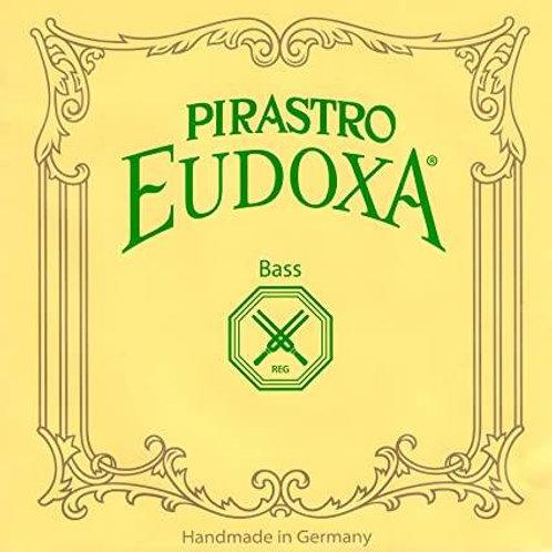 PIRASTRO EUDOXA CORDA SOL (G) PER BASS ORCHESTRA GUT/SILVER MITTLE 243140