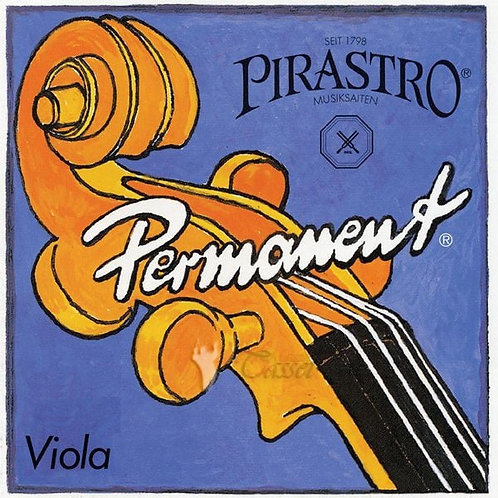 PIRASTRO VIOLA PERMANENT CORDA SOL (G) ROPE CORE/SILVER MITTLE ENVELOPE 325320
