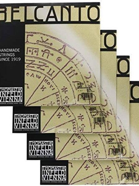 THOMASTIK INFELD BELCANTO ROPE CORE MUTA TENSIONE MEDIA PER CONTRABBASSO - BC600