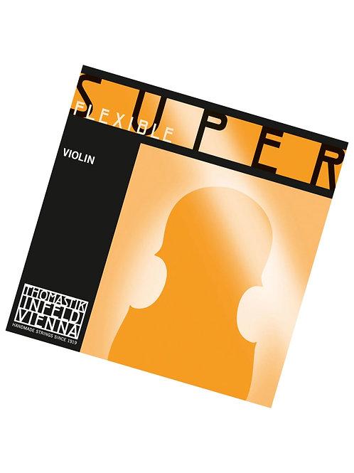 SUPERFLEXIBLE CORDA SOL (G) ANIMA ACCIAIO RIVESTIMENTO ARGENTO - 14