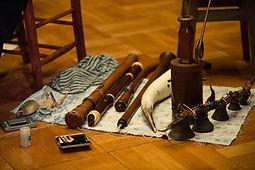 様々な古楽器
