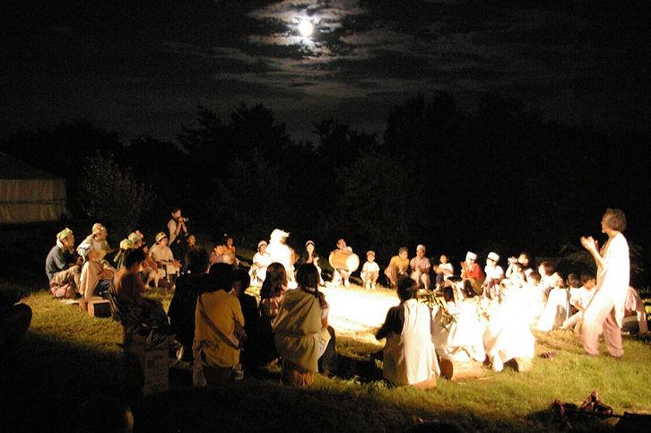 月夜のガランピー祭