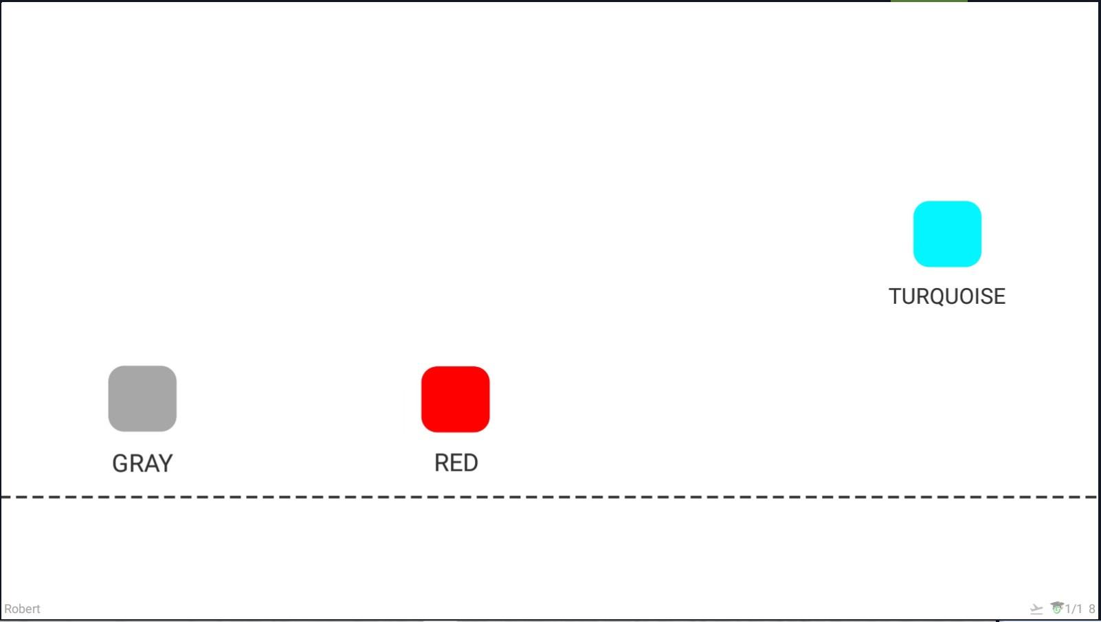 Krok 10 - celkový počet objektov, ktoré vidíte naraz, sa zníži na 3
