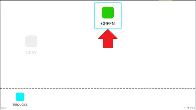 Krok 11 - zde vidíte jak program ukazuje správnou odpověď