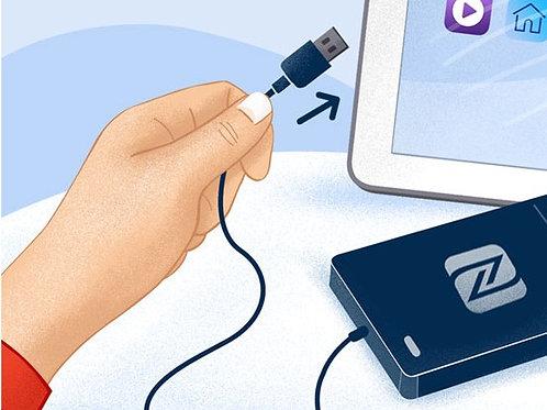 NFC čítačka pre tablety s USB mikro