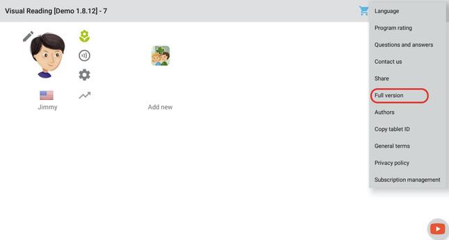 Možnosť 3 - použite menu Plná verzia (iba pre školy)