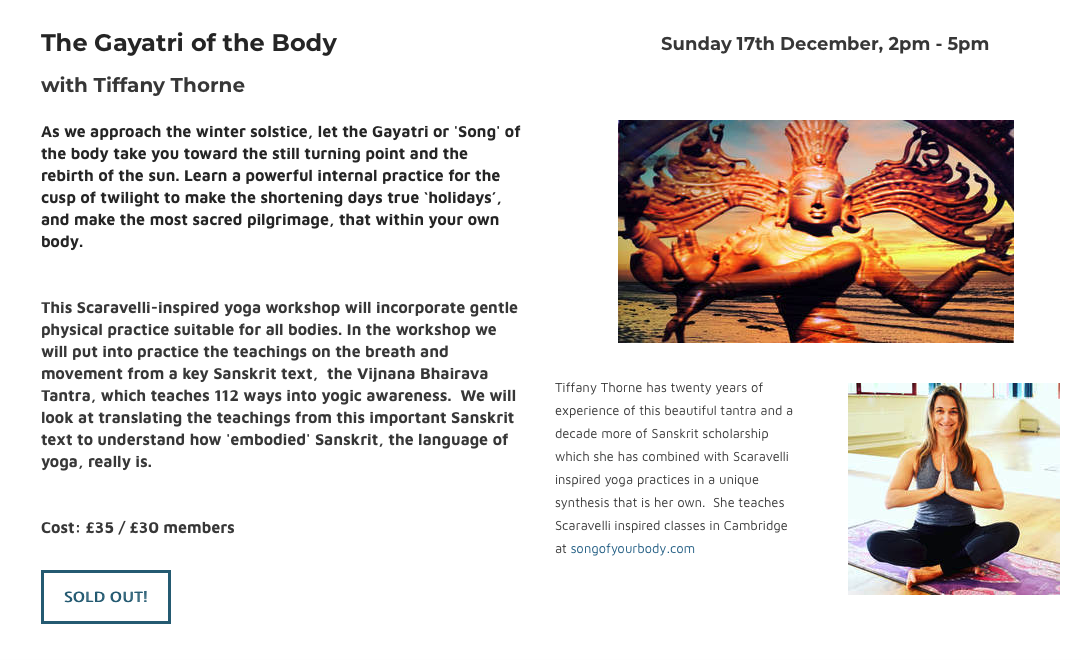 The Gayatri of the Body 02