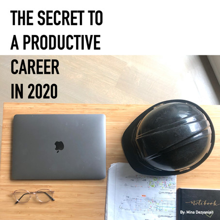 The secret to a productive career in 2020