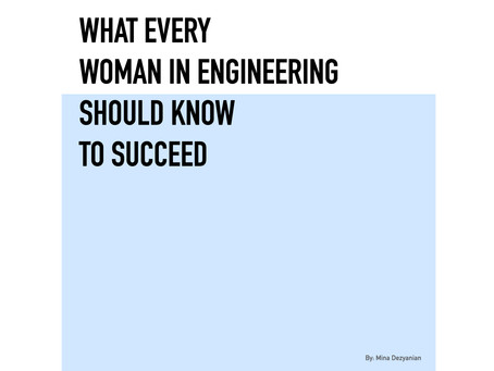 What every woman in engineering should know to succeed