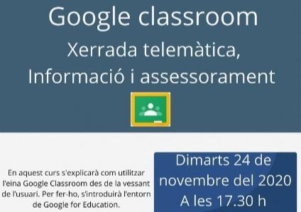 Classroom per pares i mares les Franqueses del Vallès