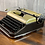 Thumbnail: Custom Gold & Brown Bronze Olympia SM3 Manual Typewriter Reconditioned Perfect