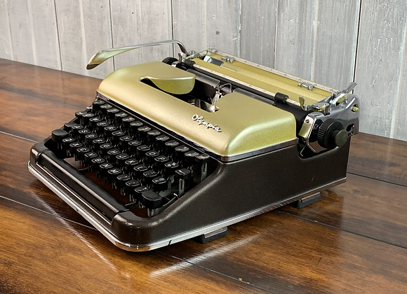 Gold Candy Metallic Bronze Olympia SM3 Manual Typewriter Reconditioned Perfect