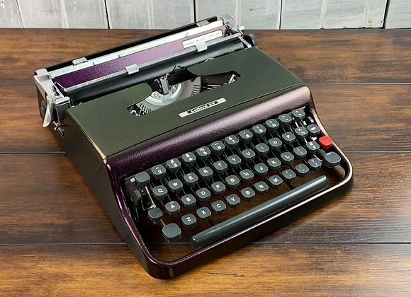 Custom Color-shift Olivetti Lettera 22 Ultraportable Manual Typewriter