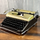 Thumbnail: Gold Candy Metallic Bronze Olympia SM3 Manual Typewriter Reconditioned Perfect