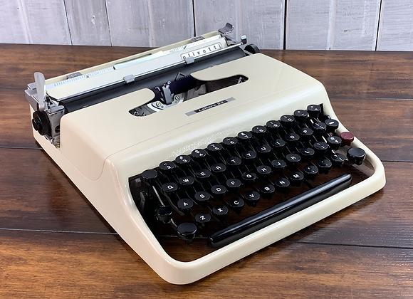 Custom Painted Ferrari Avorio Ivory Pearl Olivetti Lettera 22 Typewriter
