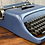 Thumbnail: Cursive! Olivetti Studio 44 Manual Typewriter & Case! Reconditioned and Painted