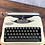 Thumbnail: Ultraportable Light Travel Hermes Rocket Typewriter Reconditioned New Paint!