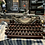Thumbnail: Custom Tan and Ivory Olympia SM3 Manual Typewriter Reconditioned Perfect