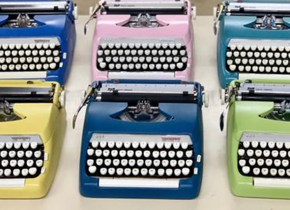 Custom  Smith Corona Sterling Manual Typewriter in any color you want!