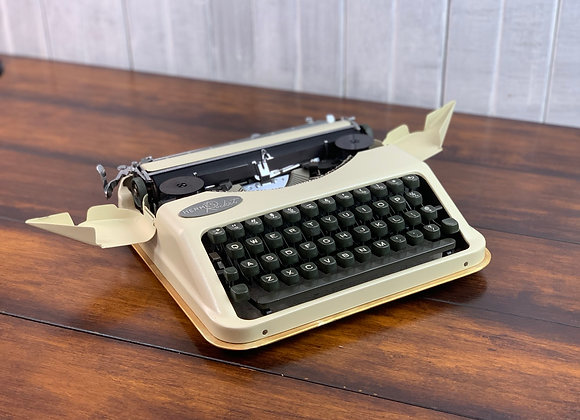 Ultraportable Light Travel Hermes Rocket Typewriter Reconditioned New Paint!