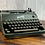 Thumbnail: 1952 Green Rheinmetall KST Manual Typewriter Fully Reconditioned!