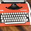 Thumbnail: 1978 Olympia Traveller Unis Deluxe Ultraportable Typewriter in Russian Cyrillic