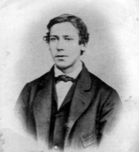 Martin som ung mann