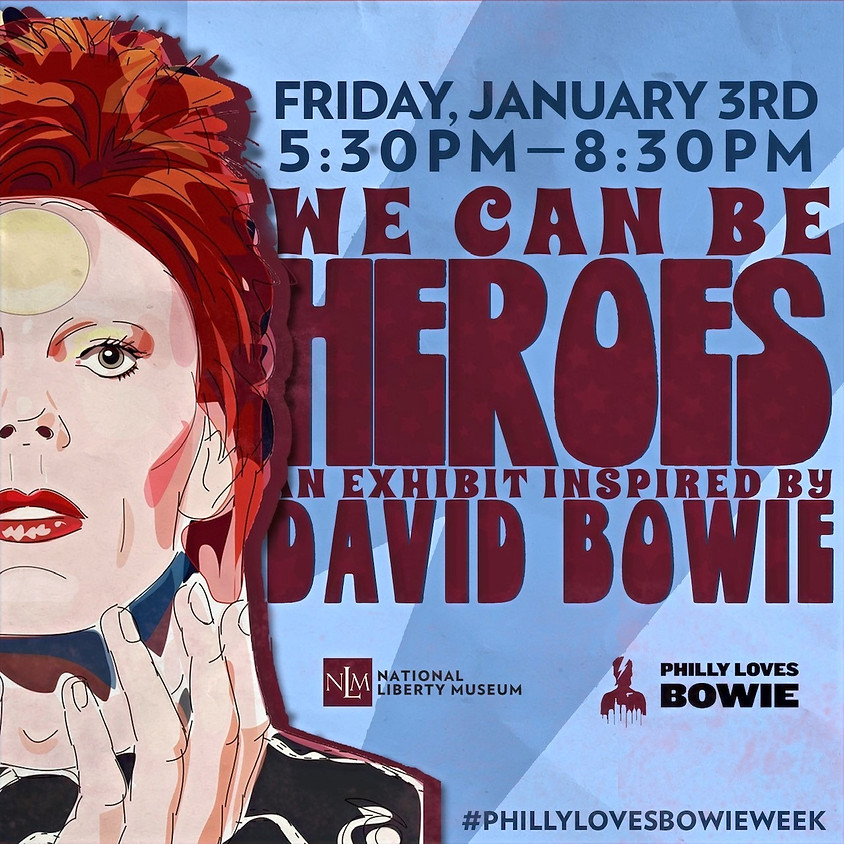 """The Opening Reception for the """"We Can Be Heroes"""" Exhibition"""