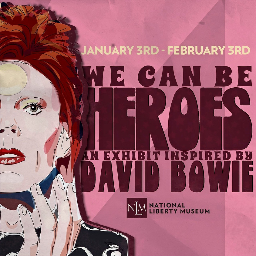 """National Liberty Museum to Host New """"We Can Be Heroes"""" Exhibition"""