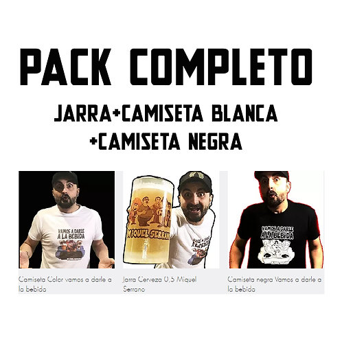 Pack Completo ahorro 15%