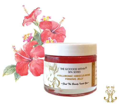 Hyaluronic Hibiscus- Rose Firming Face Jelly