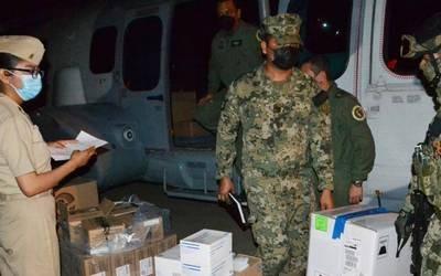 La Semar informa estrategia de vacunación en municipios de Guerrero