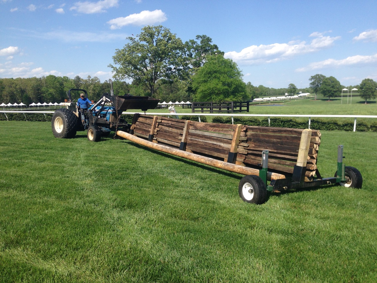 Timber roll-on-roll-off