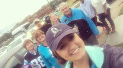 Team Sonitrol at the Panthers Game